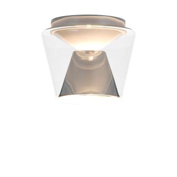 Serien Lighting Annex Ceiling S LED, 3000K, Schirm klar, Reflektor Aluminium poliert