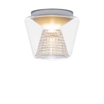 Serien Lighting Annex Ceiling S LED, 3000K, Schirm klar, Reflektor Kristallglas geschliffen