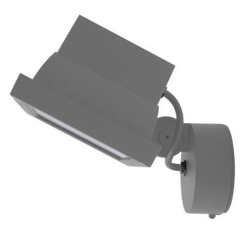 Bega 77539 LED-Scheinwerfer, breitstreuend, silber, 3000K (neutralweißes Licht)