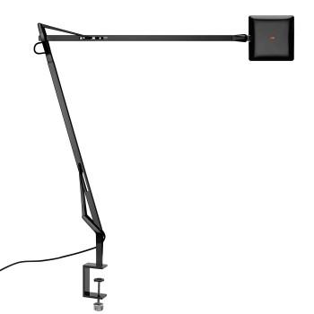 Flos Kelvin Edge mit Tischklemme, schwarz