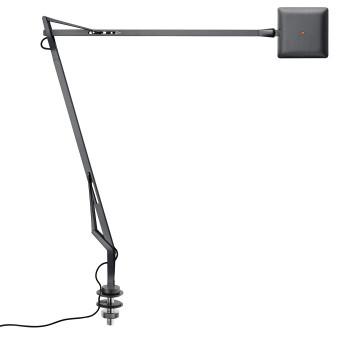 Flos Kelvin Edge mit Schraubbefestigung, titanium, mit verstecktem Kabel