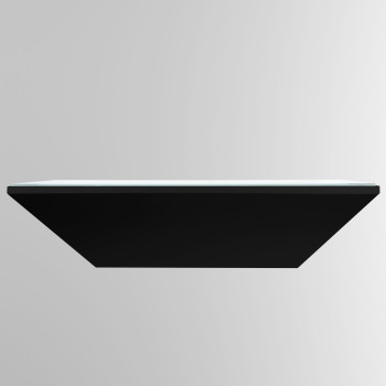 Bega 50200 LED kleine Wandleuchte, schwarz glänzend, 3000K (neutralweißes Licht)