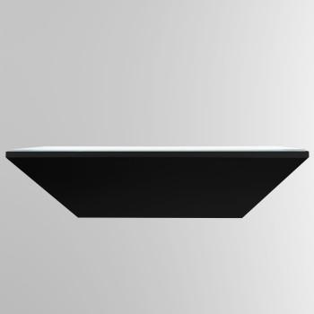 Bega 50200 LED kleine Wandleuchte, schwarz glänzend, 4000K (kaltweißes Licht)