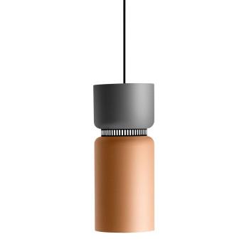 B.Lux Aspen S17B LED, Schirm oben grau, unten mango
