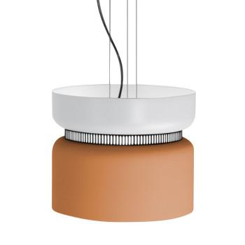 B.Lux Aspen S40 LED, Schirm oben weiß, unten mango