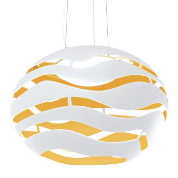 B.Lux Tree Series S75, außen weiß - innen goldfarben