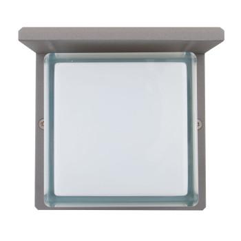 Bega 33328 LED große Wandleuchte, silber, 4000K (kaltweißes Licht)