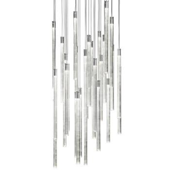 Fabbian Multispot Tooby 30 Pendelleuchte, Aluminium