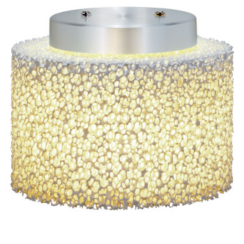 Serien Lighting Reef Ceiling, Aluminium poliert