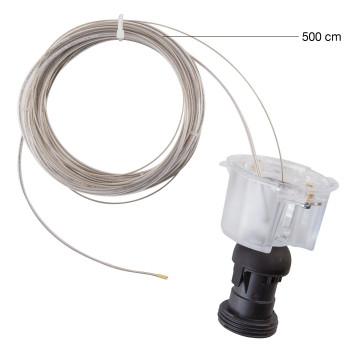 Foscarini Gregg Media / Grande Sospensione E27 Ersatzfassung mit Kabel, Grande, Kabellänge 500 cm