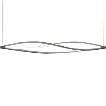 Nemo In The Wind Horiziontal Pendant Light, titan grey, 2.700 Kelvin