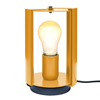 Nemo Pivotante À Poser Table Lamp, yellow