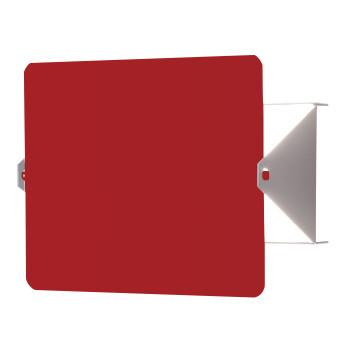 Nemo Applique À Volet Pivotant LED Wall Light, red