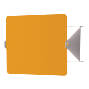 Nemo Applique À Volet Pivotant LED Wall Light, yellow