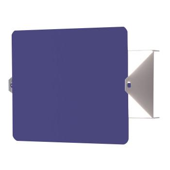 Nemo Applique À Volet Pivotant LED Wall Light, blue