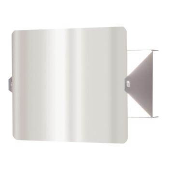 Nemo Applique À Volet Pivotant LED Wall Light, stainless steel