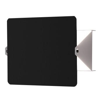 Nemo Applique À Volet Pivotant R7s Wall Light, black