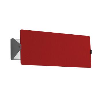Nemo Applique À Volet Pivotant Double LED Wall Light, red