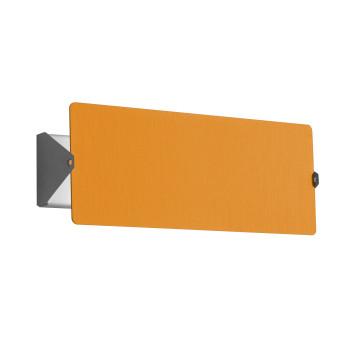 Nemo Applique À Volet Pivotant Double LED Wall Light, yellow