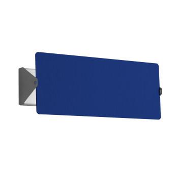 Nemo Applique À Volet Pivotant Double LED Wall Light, blue