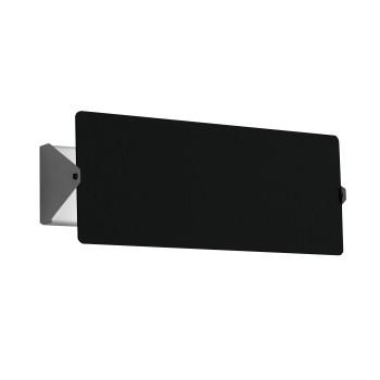 Nemo Applique À Volet Pivotant Double LED Wall Light, black