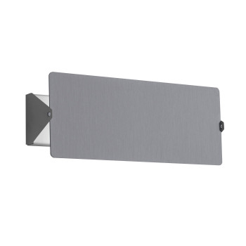 Nemo Applique À Volet Pivotant Double Wall Light, aluminium
