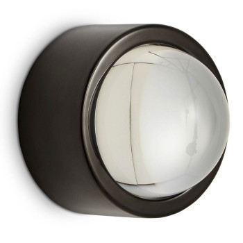 Tom Dixon Spot Surface Round IP44, schwarz