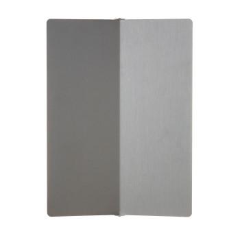 Nemo Applique À Volet Pivotant Plié R7s Wall Light, aluminium