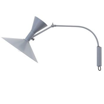 Nemo Lampe de Marseille Mini Wall Light, matt grey