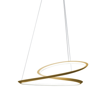 Nemo Kepler Up Pendant Light, gold