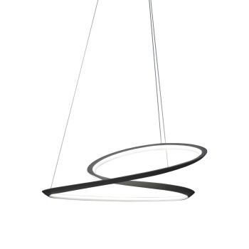 Nemo Kepler Up Pendant Light, black