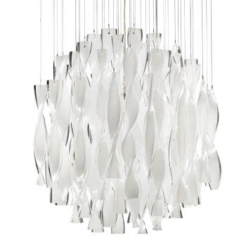 Axo Light Aura SP 60, Stahl glänzend - weiß