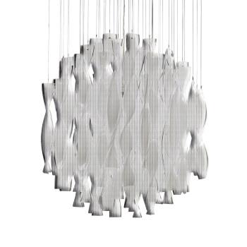 Axo Light Aura SP 45, Stahl glänzend - kristall
