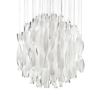 Axo Light Aura SP 45, Stahl glänzend - weiß