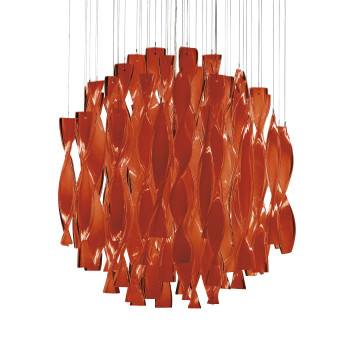 Axo Light Aura SP 45, Stahl glänzend - rot