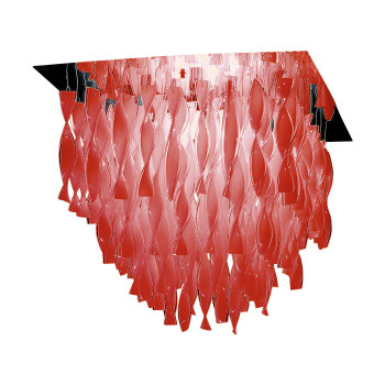Axo Light Aura P, Stahl glänzend - rot