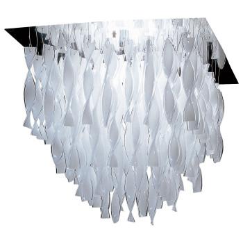 Axo Light Aura GR, Stahl glänzend - weiß