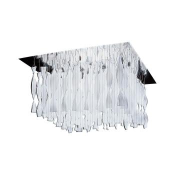Axo Light Aura P30, Stahl glänzend - kristall