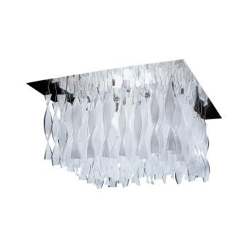 Axo Light Aura P30, Stahl glänzend - weiß