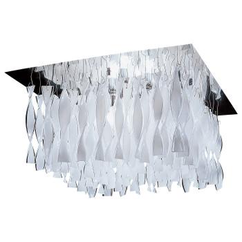 Axo Light Aura G30, Stahl glänzend - weiß