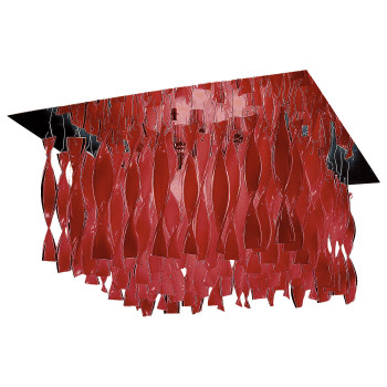 Axo Light Aura G30, Stahl glänzend - rot
