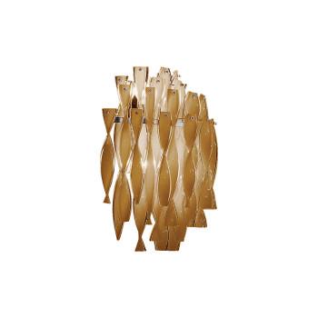 Axo Light Aura AP, Stahl glänzend - tee