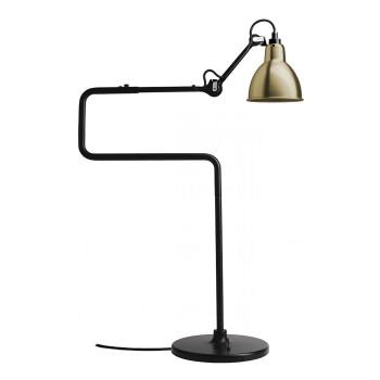DCW Lampe Gras No 317, Schirm Messing