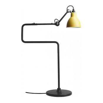 DCW Lampe Gras No 317, Schirm gelb