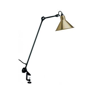 DCW Lampe Gras No 201, Schirm Messing