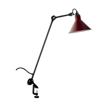 DCW Lampe Gras No 201, Schirm rot