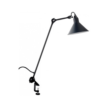 DCW Lampe Gras No 201, Schirm blau