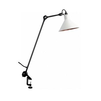 DCW Lampe Gras No 201, Schirm weiß (innen Kupfer)