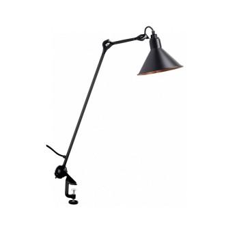 DCW Lampe Gras No 201, Schirm schwarz (innen Kupfer)