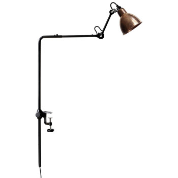 DCW Lampe Gras No 226, Schirm Kupfer roh